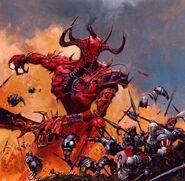 Príncipe Demonio arrasando Imperio por Adrian Smith