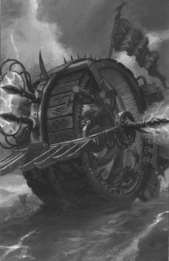 Rueda de la Muerte Imagen libro 7ª Skaven