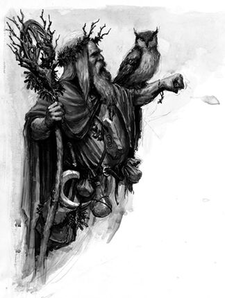 Hechicero de batalla Imperio Jade por Karl Kopinski