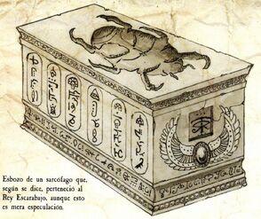 Sarcófago Rey Escarabajo