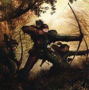 Arqueros Imperiales Hochland por Clint Langley