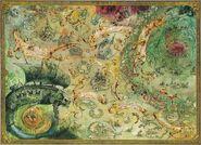 Mapa Cementerio de los Galeones por John Blanche