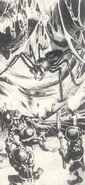 Araña Gigante Pigmeos por Paul Bonner