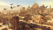 Ciudad De Los Reyes Funerarios Warhammer Total War II