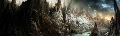 Montañas Espinazo Negro por Daarken