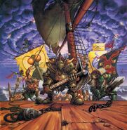 Portada Plage Fleet por Mark Gibbons