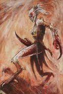 Diablilla de Slaanesh de John Blanche