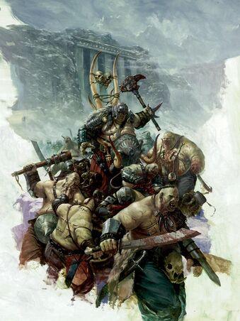 Portada Reinos Ogros 6ª Karl Kopinski