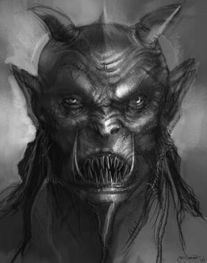 Modelsheet ungor head Hombre Bestia