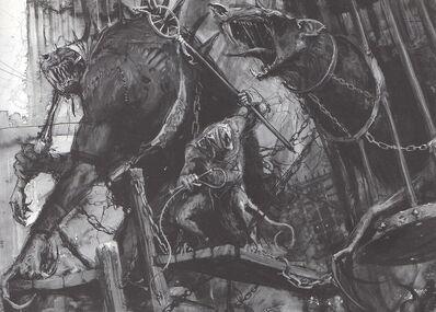 Skavens Moulder Pozo Infernal