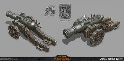Gran cañón warhammer total war por Michal Gutowski