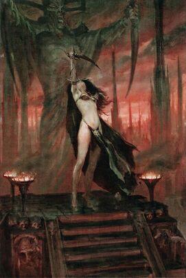 Elfa bruja Khaine