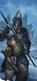 Bárbaros lanceros warhammer total war