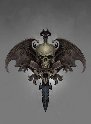 Condes Vampiro-race-symbol por Ted Beargeon