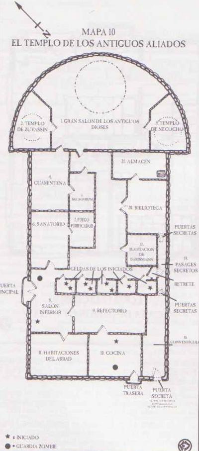 Templo antiguos aliados