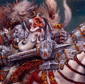 Gran Maestre Lobo Blanco por Adrien Smith Imperio