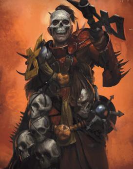 Guerrero Caos Cráneo Carmesí Khorne
