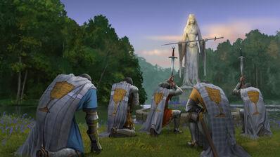 Juramento Bretonia por Milek Jakubiec Warhammer Total War