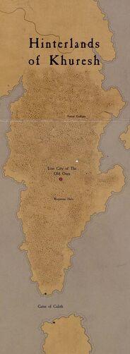 Khuresh mapa