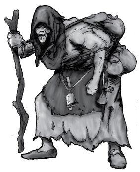 Hechicero tradicional vulgar