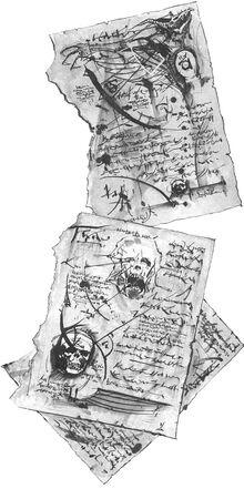 Páginas del Liber Mortis