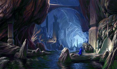 Cuevas Ciudad Subterranea Altos Elfos Chris Dien