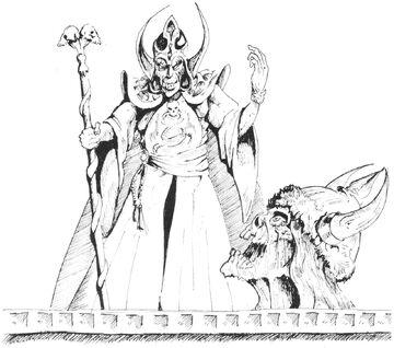 Nigromante Warhammer 1ª edición por Tony Ackland