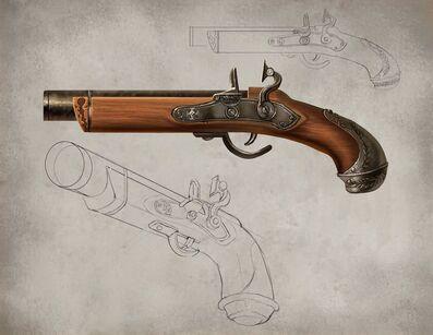 Pistola Cazador de Brujas de Mark Evans 01