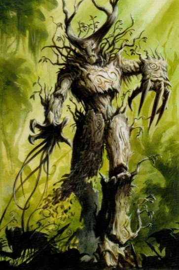 Hombre árbol octava