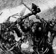 Guerreros del caos de nurgle por Adrian Smith