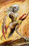 JB452-WH- Diablillas Heraldo de Slaanesh por John Blanche