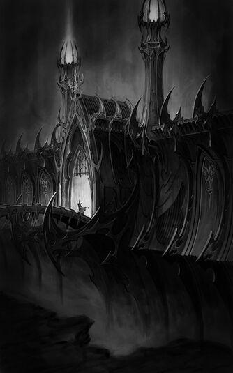 Puertas de Arca Negra por Eric Polak Elfos Oscuros