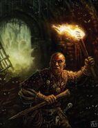 Cazador de vampiros por Pat Loboyko