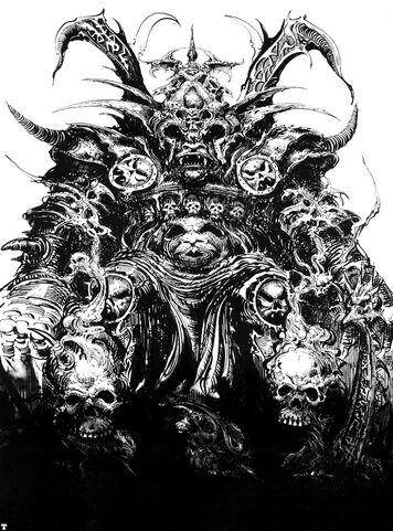 Dios del Caos Khorne