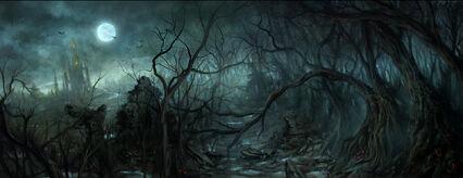Bosque Hambriento por Daarken