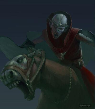 Conde Vampiro Warhammer Mark of Chaos Necrarca