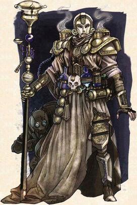Hechicero Dorado por Caleb Cleveland
