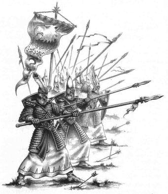 Lanceros Altos Elfos por Toby Hynes