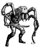 Mutante Hombre Araña por Tony Ackland