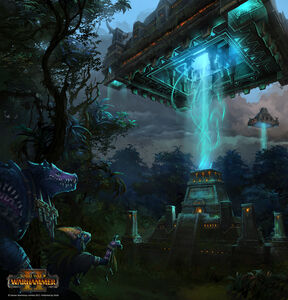 Pirámide ancestrales warhammer total war por Stoyan Stoyanov