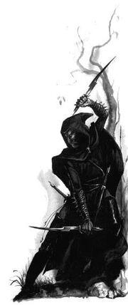 Aesino Elfos Oscuros por Dave Gallagher