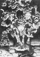 Espiritus de los Ancestros Pigmeos por Paul Bonner