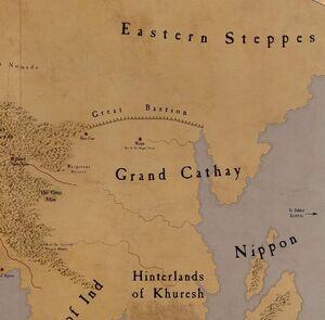 Mapa catai y lejano este