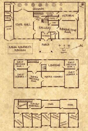 Mapa mansión barón manfred