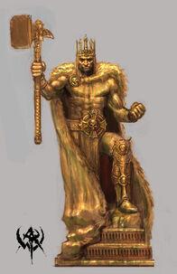 Sigmar statue