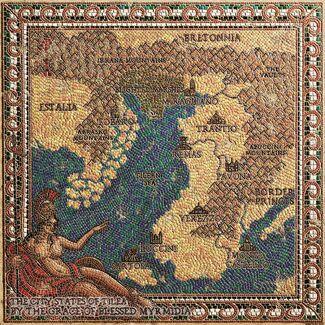 Mapa tilea myrmidia