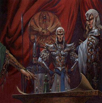 Altos Elfos Estrategia por Adrian Smith C as 2043