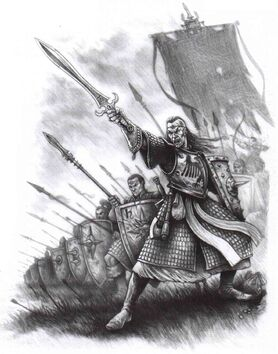 General mercenario Alto Elfo