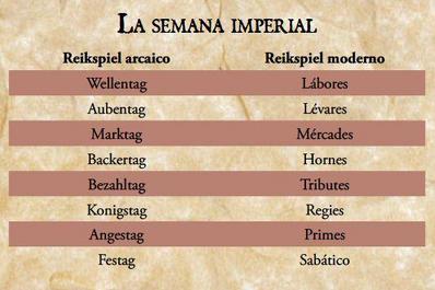 Calendario imperial imagen 2