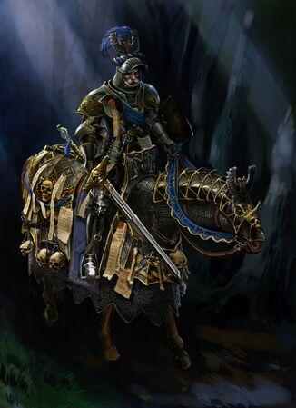 Conde Elector del Imperio por Gergely Fejervary Warhammer Mark of Chaos